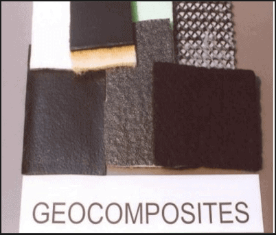 mixture of geotextile-geogrid